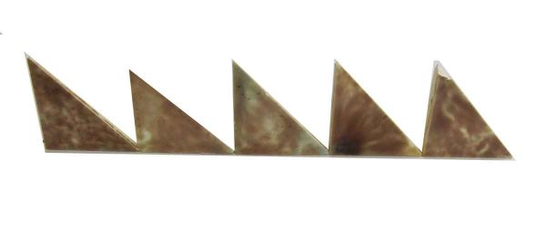 Mixed Brown Triangle Tiles