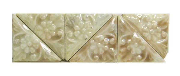 Floral Triangle Tile Set