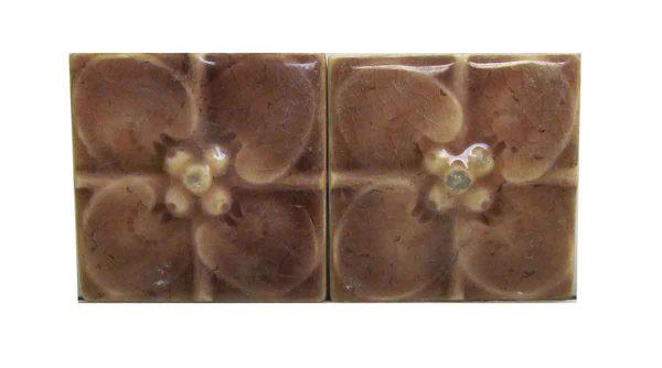 Floral Square Tiles