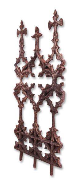 Gothic Iron Fence Panel