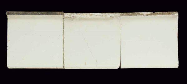 White 6 X 6 Cap Tiles