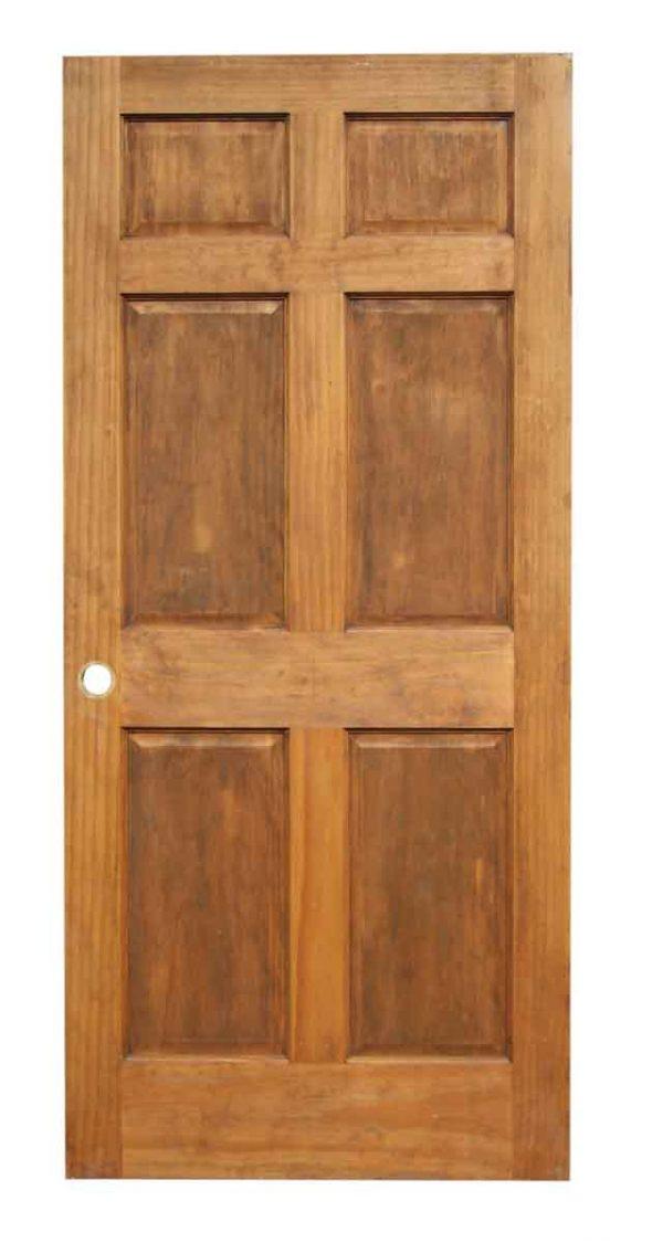 Single Six Panel Door
