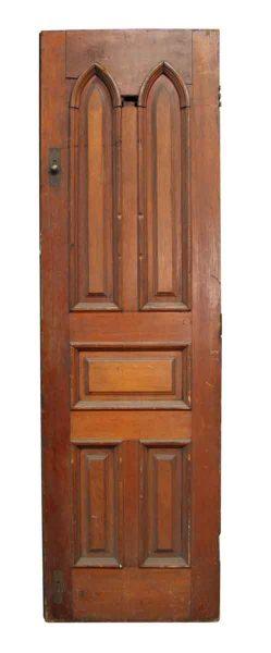 Single Door with Gothic Panels