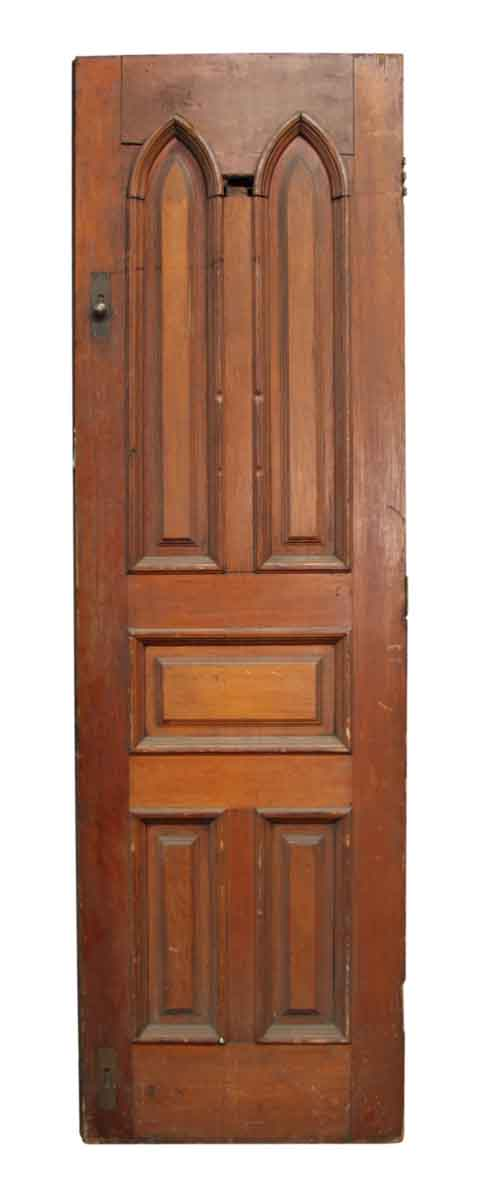 Single Door with Gothic Panels