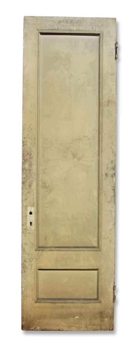 Single Narrow Tan Door