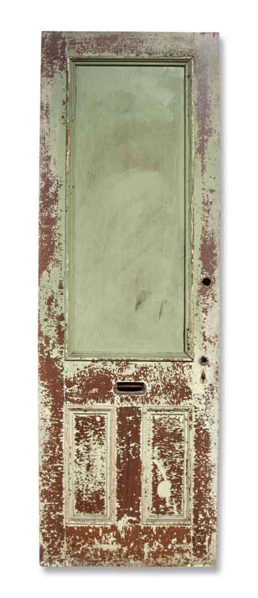 Single Three Paneled Door