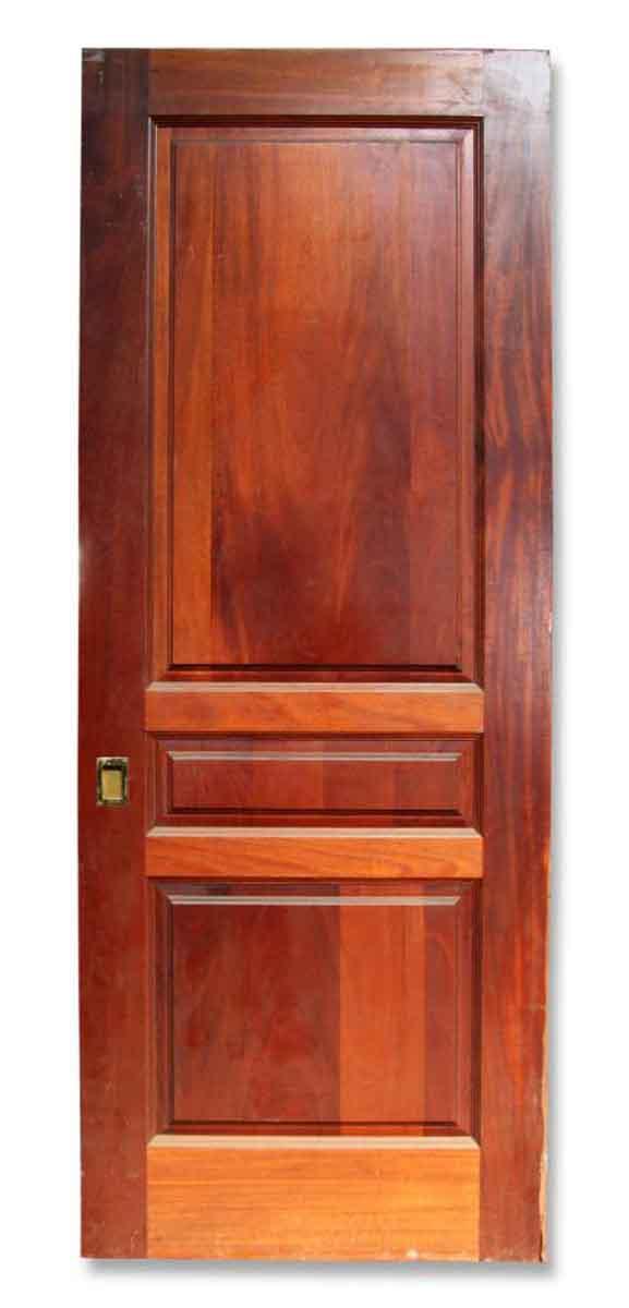 Single Three Paneled Pocket Door