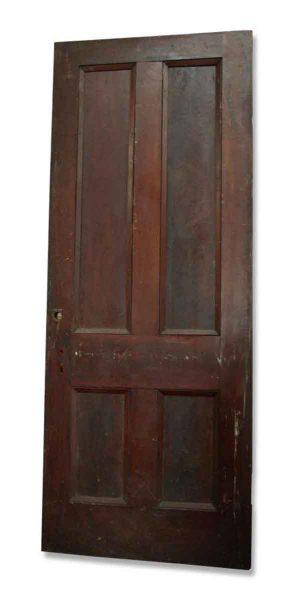 Single Four Paneled Door