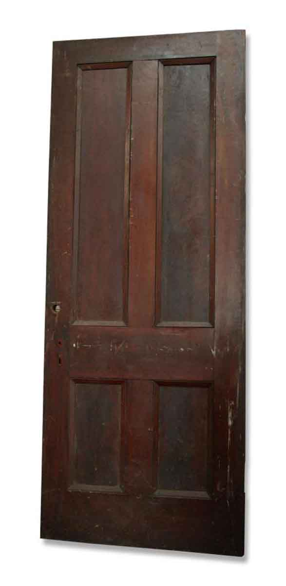 Single Four Paneled Door
