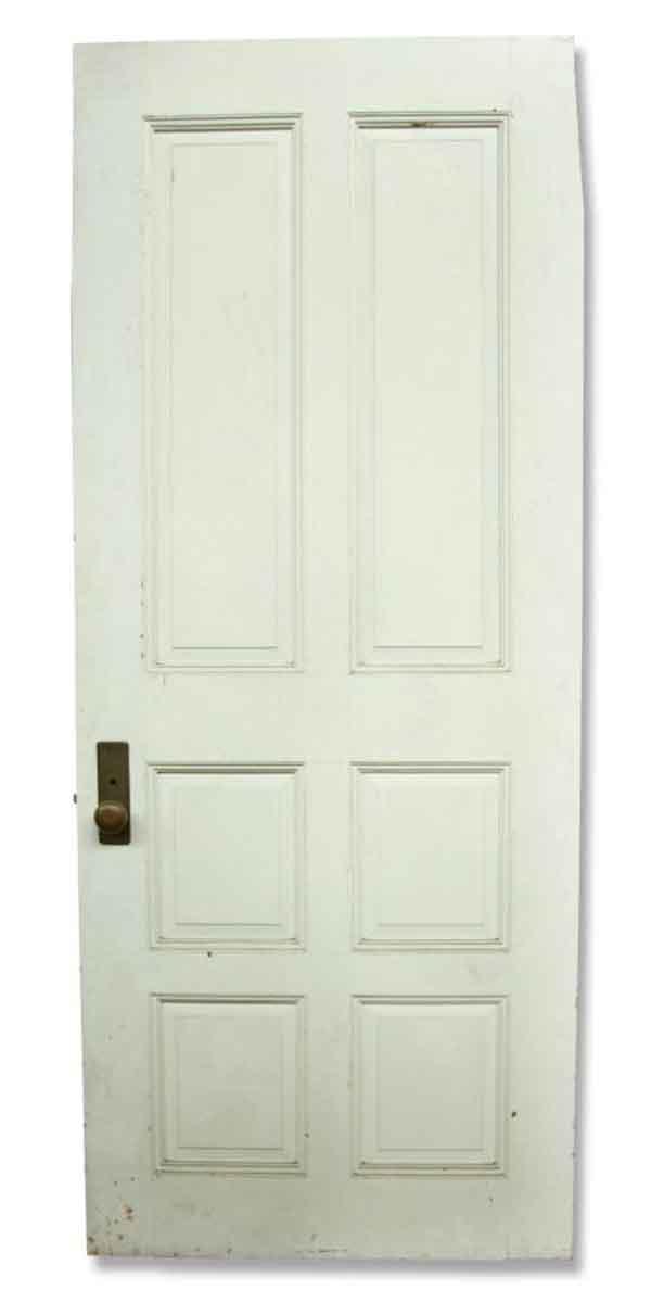 White Six Panel Door Olde Good Things