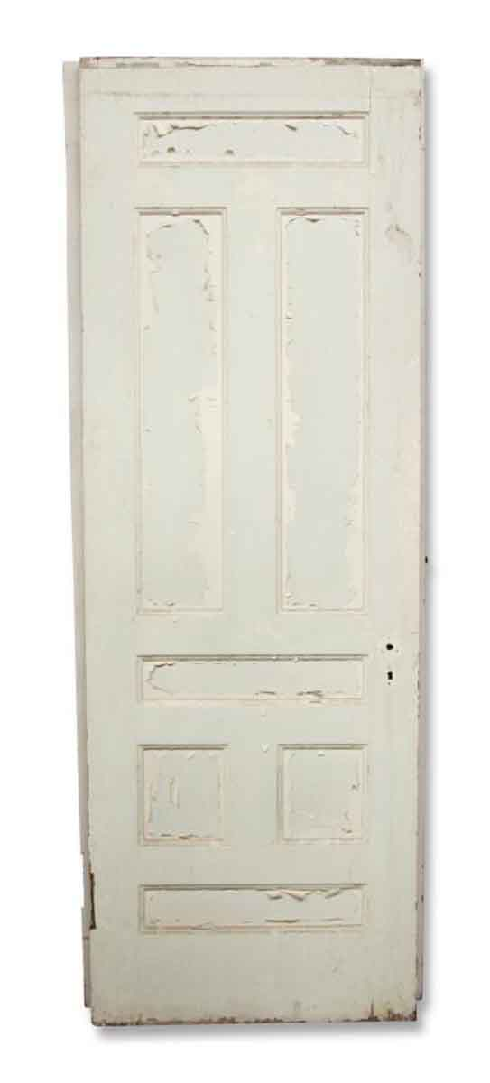 Oak White Crackle Paint Door