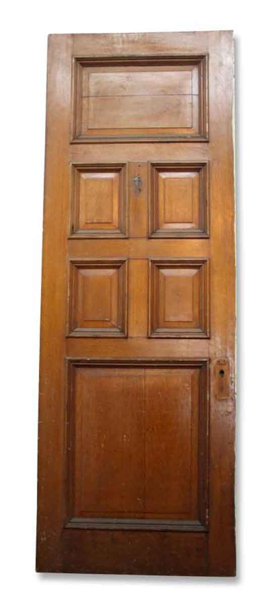 Single Six Paneled Wood Door
