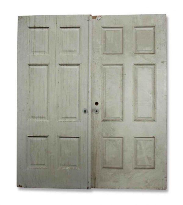 Pair of Wide Double Doors