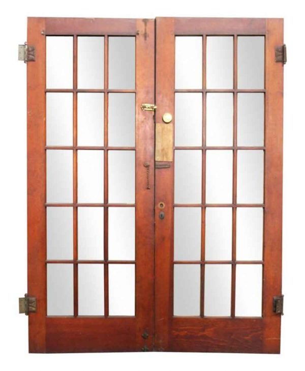 Pair of Double French Doors