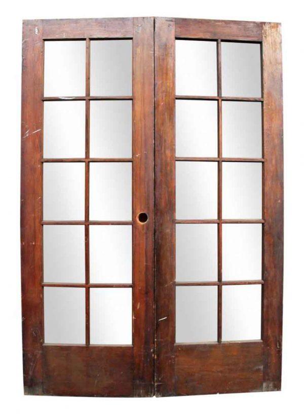 Pair of Double Wooden Doors