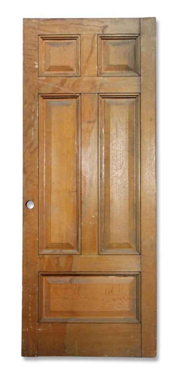 Single Four Paneled Pocket Door
