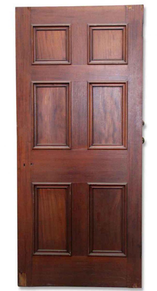 Single Stained Wooden Door