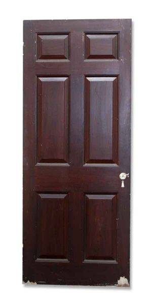 Single Door with Raised Paneling