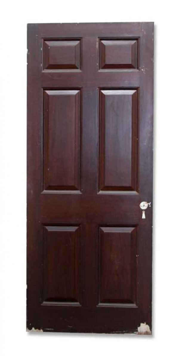 Single Door with Raised Paneling