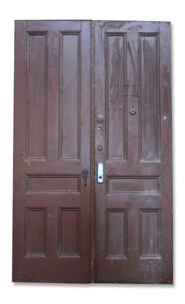 Pair of Five Paneled Doors