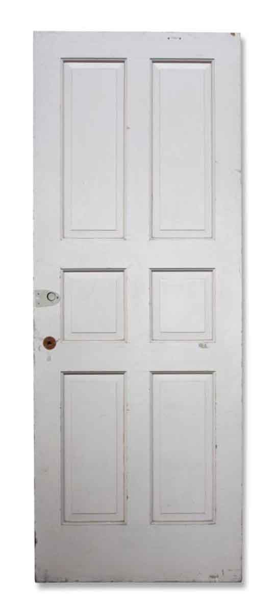 Single Six Panel White Door