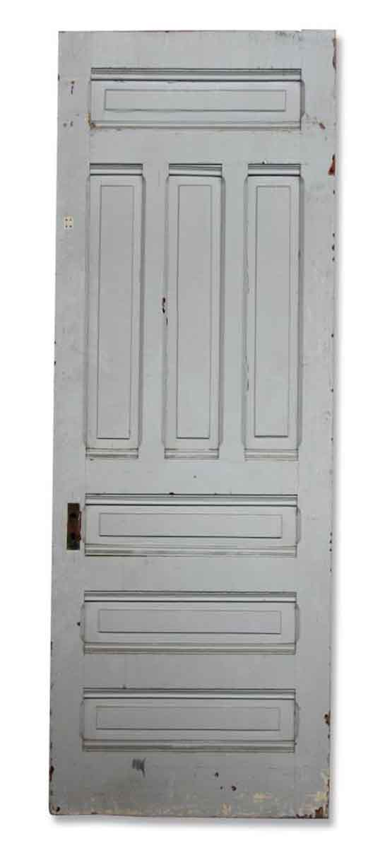 Single Seven Paneled Door