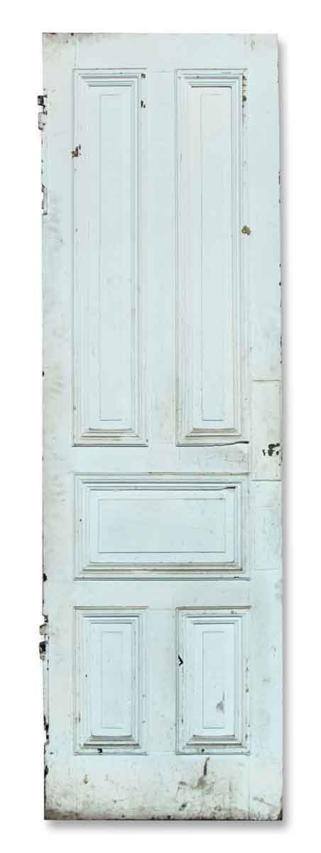 Single Narrow Five Paneled Door