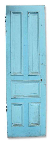 Salvaged Blue Door