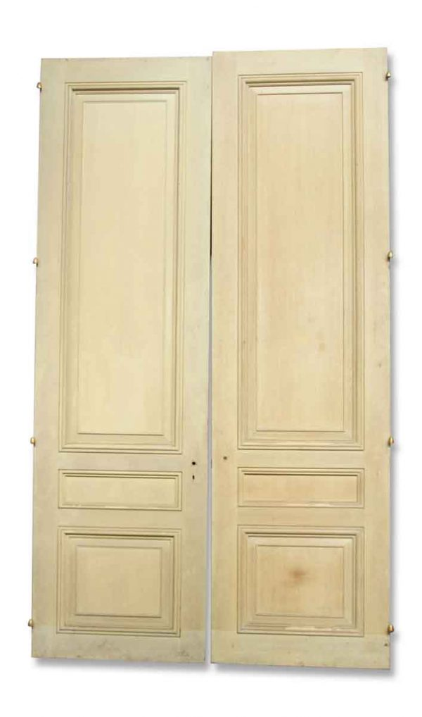 Large Three Panel Wooden Doors