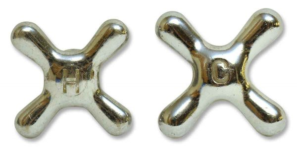 Pair of Hot & Cold Knobs