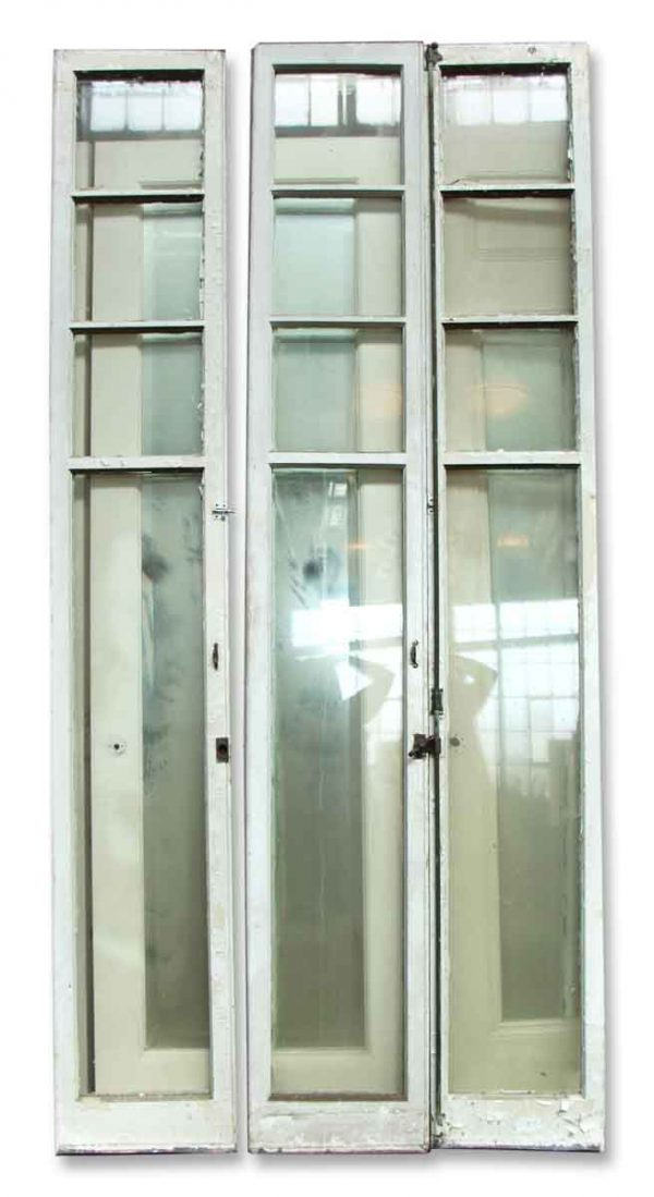 Olde Narrow Four Glass Doors