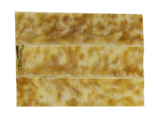Yellow & Brown Hearth Tile