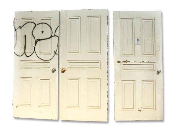 Olde Five Paneled White Door