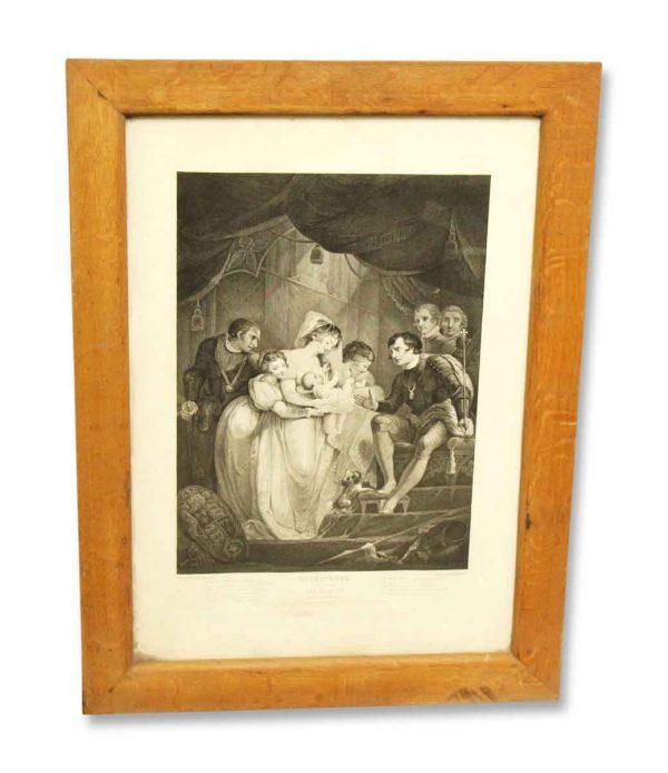 Vintage Shakespeare Print