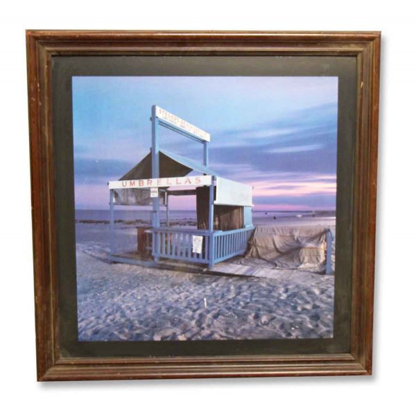 Vintage Beach Print