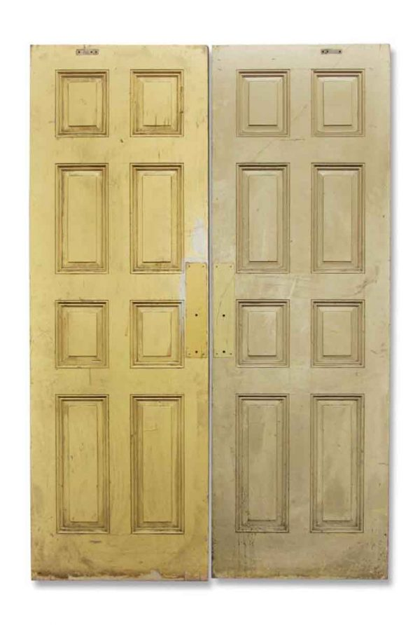 Pair of Doors with Eight Panels