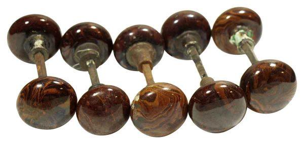 Vintage Bennington Knob Set