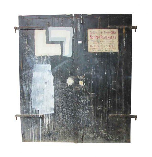 Metal Elevator Doors