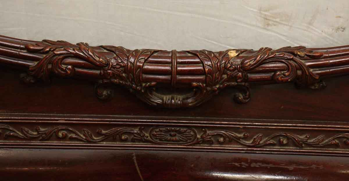 Carved Wooden Bed Frame Olde Good Things