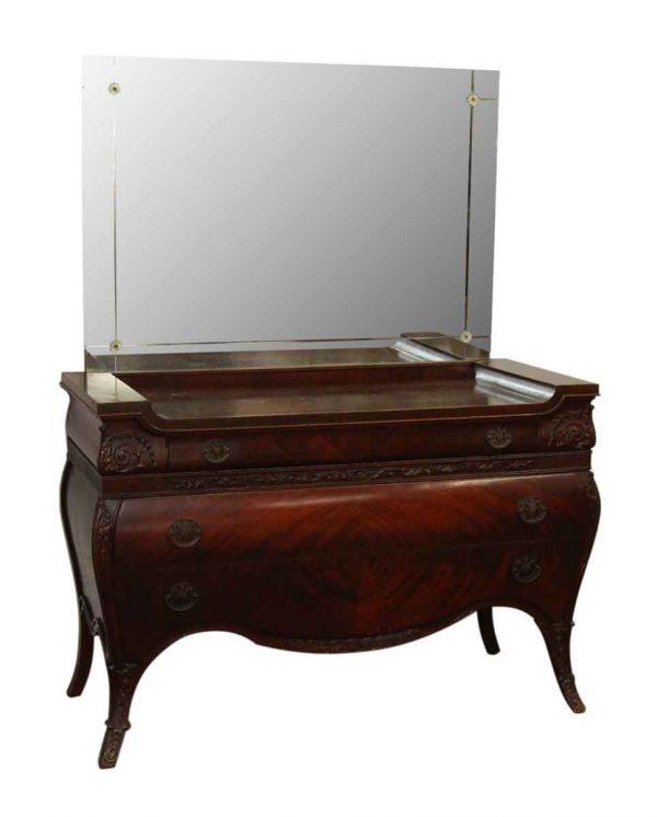 Maple Vanity with Mirror