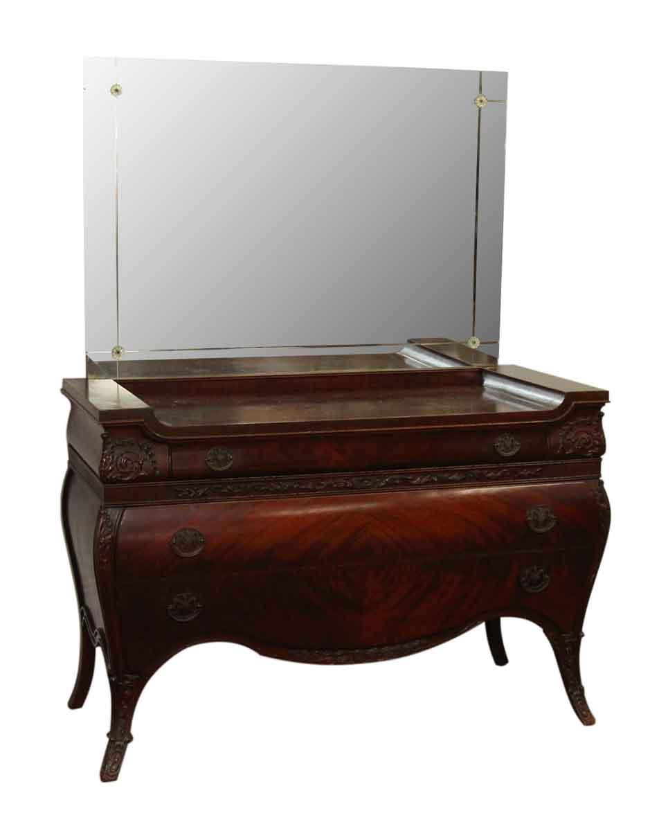 Maple Vanity With Mirror Olde Good Things