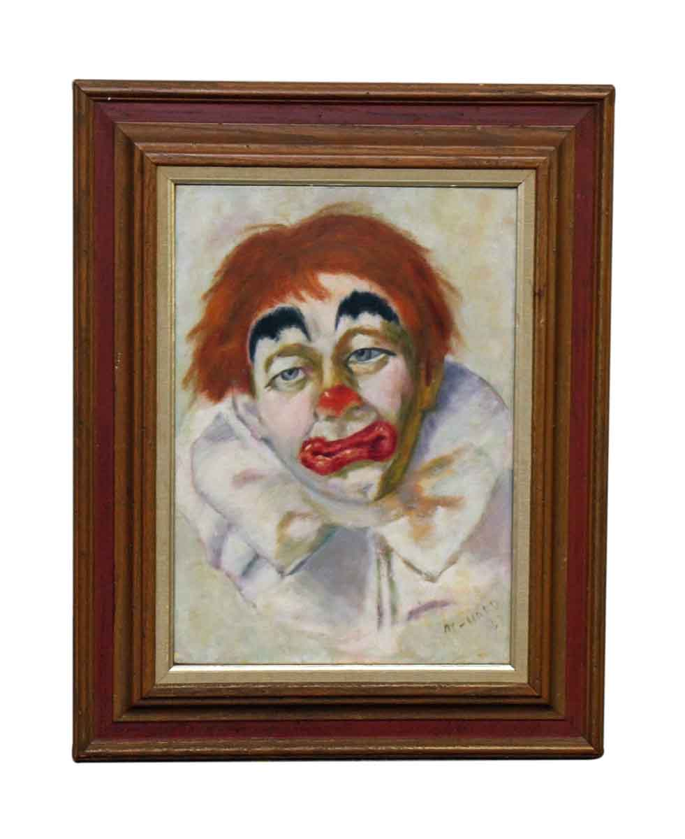 Clown Oil Painting