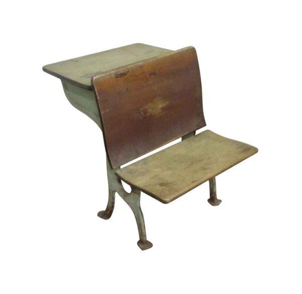 Antique School Chair & Desk