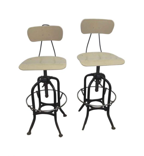 Toledo Stool with Plastic Seat & Back