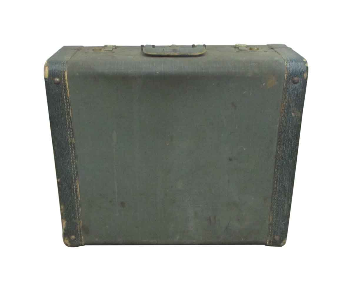 Green Vintage Suitcase | Olde Good Things