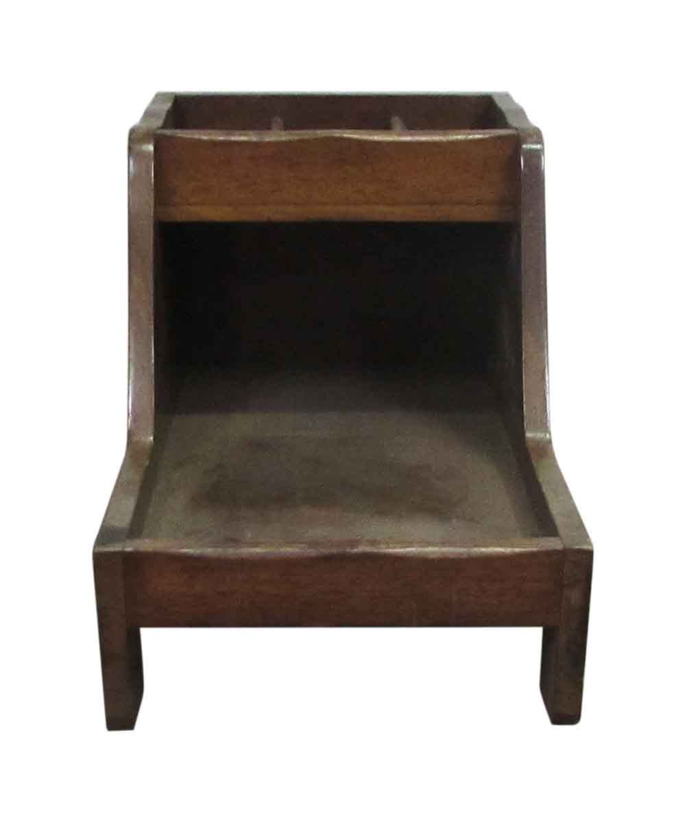 Antique Wooden Shoe Shine Stand - Antique Wooden Shoe Shine Stand Olde Good Things