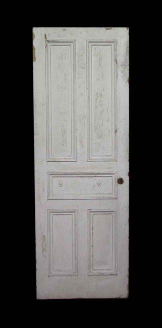 Five Panel White Door