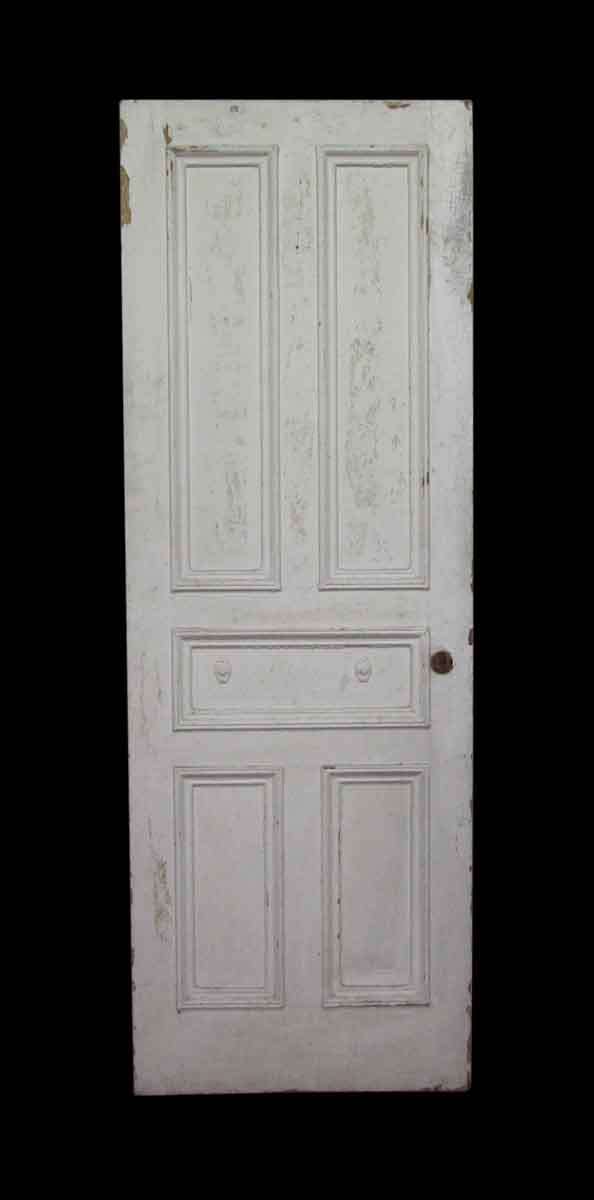 Five Panel White Door