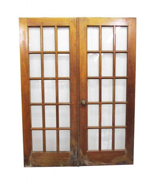 Fifteen Window French Door