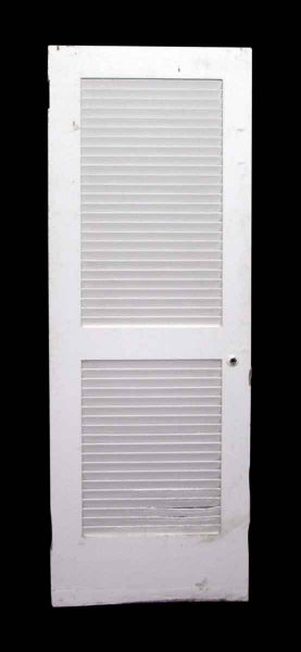 Vented Louver White Door
